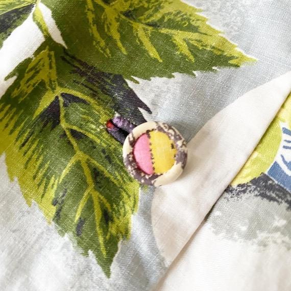 Summery FruitBowl Rose Print Frock - image 4