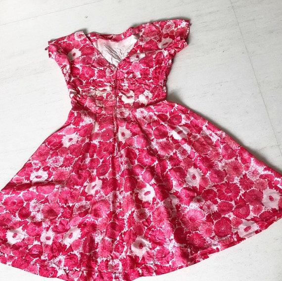 Lovely Gigi Young Daisy Print Dress - image 5