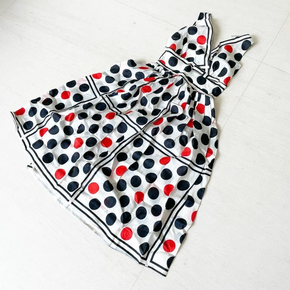 Sassy Polka Dot 50s Sundress