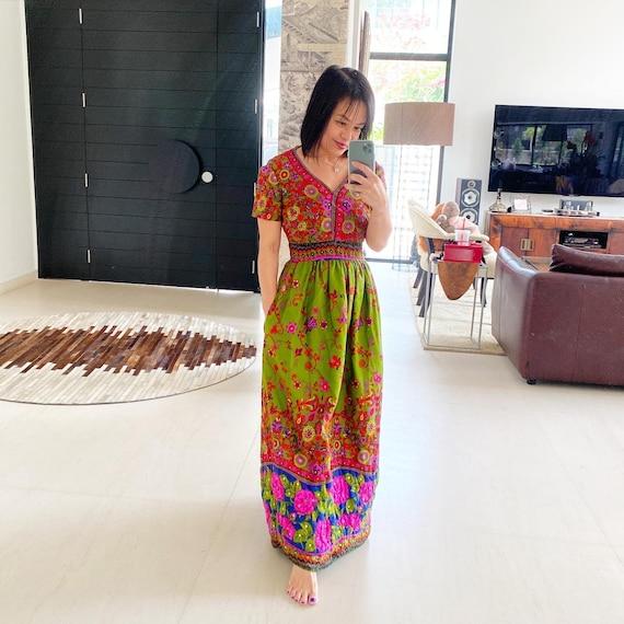 Gorgeous Unlabelled Malcolm Starr Maxi Dress
