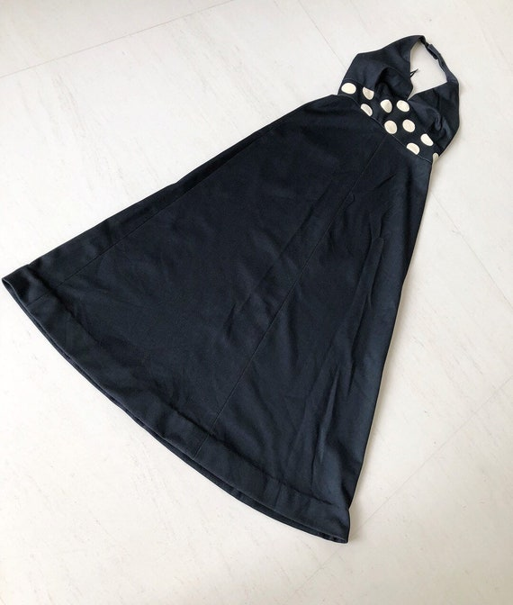 Stunning Gay Gibson Polka Dot Maxi Dress