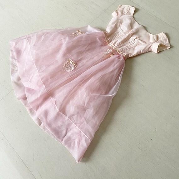 Pretty Pale Pink Emma Domb Dress