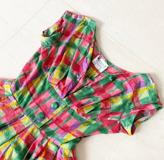Candy Colored 50s Sundress - image 2