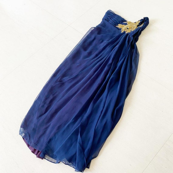 Stunning Grecian Victor Costa Gown