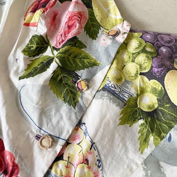 Summery FruitBowl Rose Print Frock - image 3