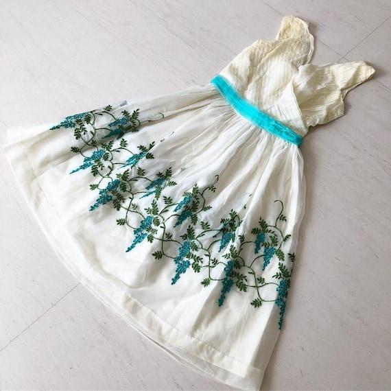 Pretty Green Grape Dress