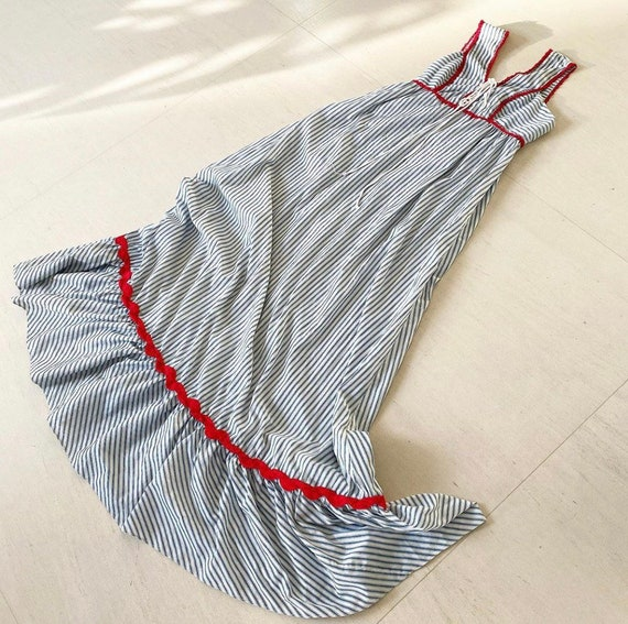 Rare Gunne Sax Black Label I.Magnin Prairie Dress