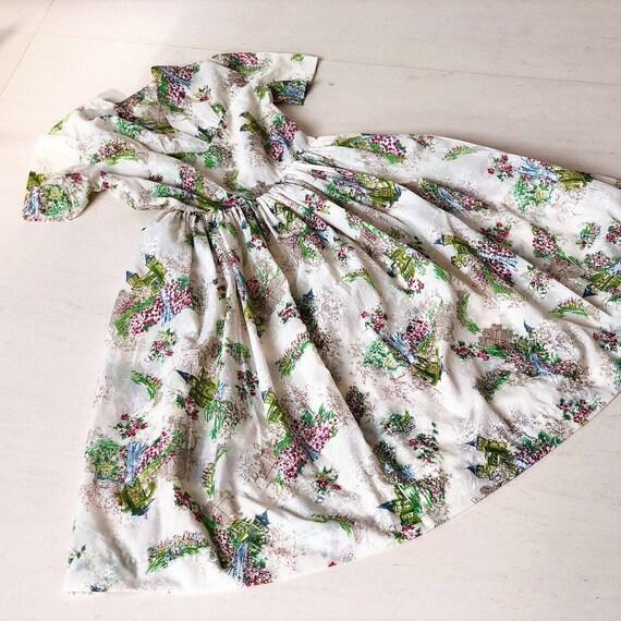 Super Rare Fairy Tale Novelty Print Dress