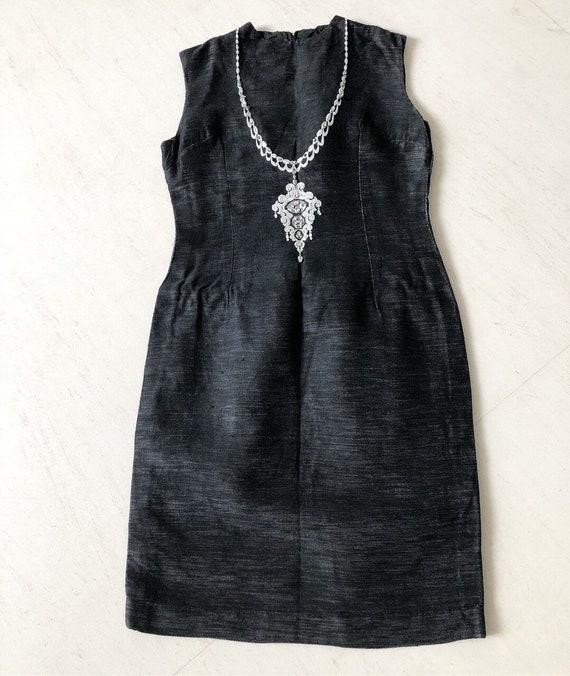 Gorgeous 80s Trompe L'Oeil Dress