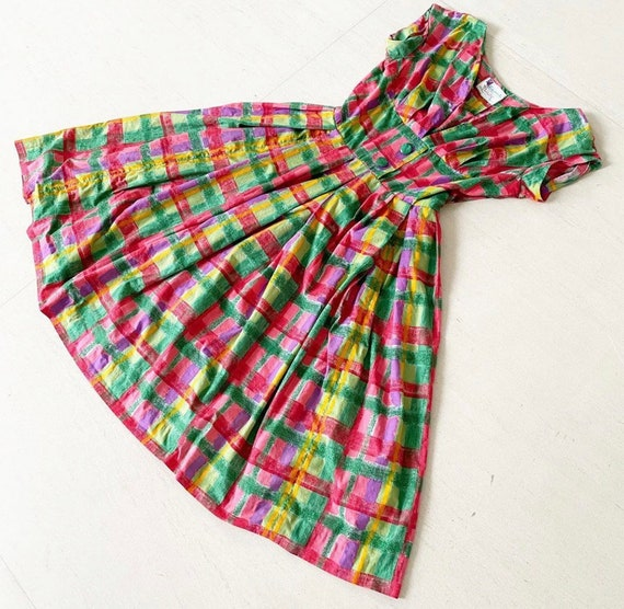 Candy Colored 50s Sundress
