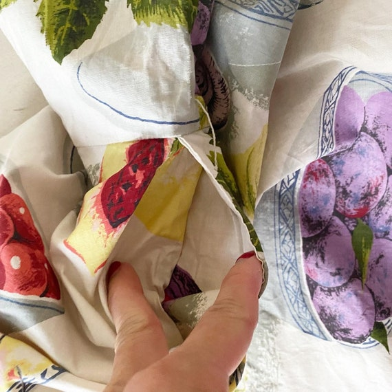 Summery FruitBowl Rose Print Frock - image 6