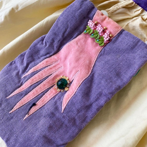 Amazing Hand Applique Apron