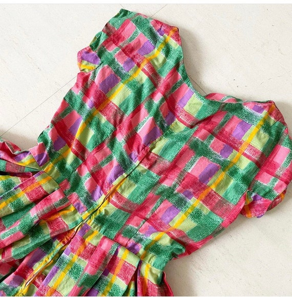 Candy Colored 50s Sundress - image 8