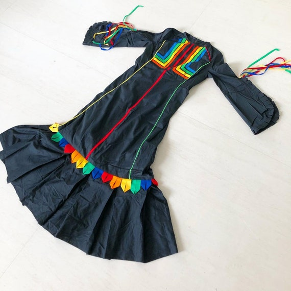 Incredible Mexican Rainbow Dress