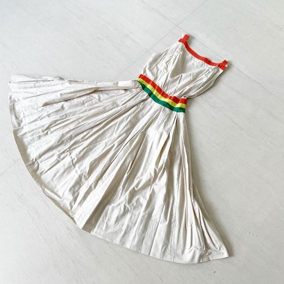 Gorgeous Colored Ribbon Dress