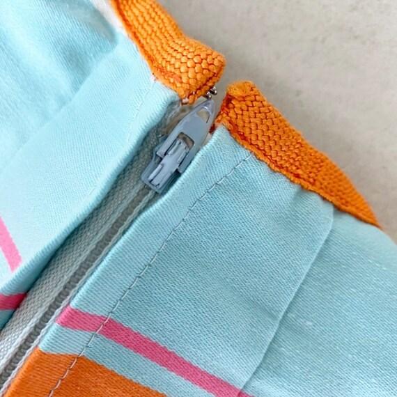 Gorgeous 60s Rainbow Stripe Pat Premo Dress - image 7