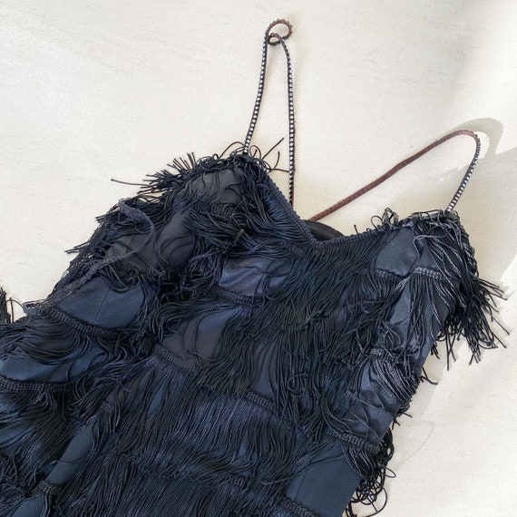 Vavavoom Fringed Gown - image 3
