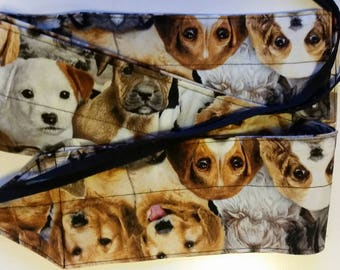 Dog/puppy fabric wrist wraps for crossfit or strength training