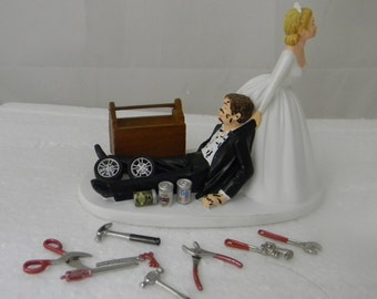 wedding cake topper with truck truck wedding cake toppers etsy 26664