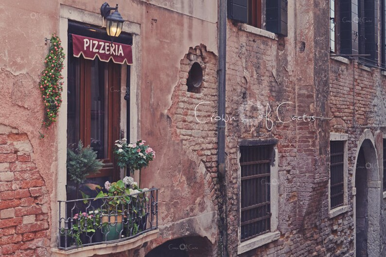 Pizzeria Venice Italy Old World Instant Digital Download Etsy