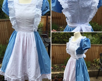5ee81d2104 Alice in Wonderland Dress, Womens Alice In Wonderland dress, ladies Alice  Dress, Lolita dress, princess dress, Adult Alice costume,Cosplay