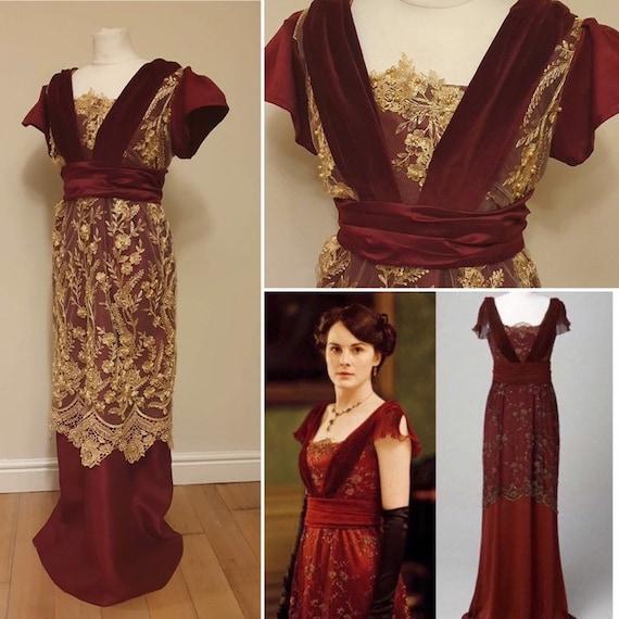 Downton Abbey Evening Dresses