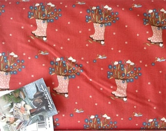 Quilting fabric, FAT QUARTER, Lizzy's World, Vero's collection by GUTERMANN'S