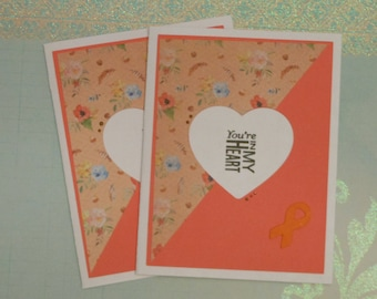 CRPS/RSD Complex Regional Pain Syndrome Inspiration Card You're In My Heart