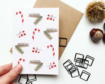 Sweet Christmas // Greeting Card