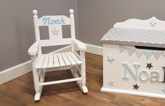 Peachy Childs Rocking Chair Nursery Furniture Kids Room Childrens Cushion Boy Girl Chair Furniture Pink Blue White Caraccident5 Cool Chair Designs And Ideas Caraccident5Info