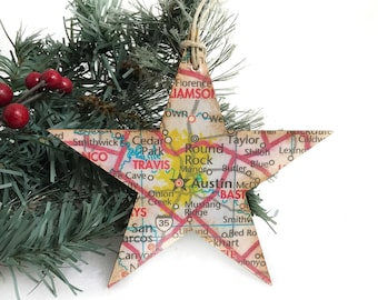 Austin texas ornaments | Etsy