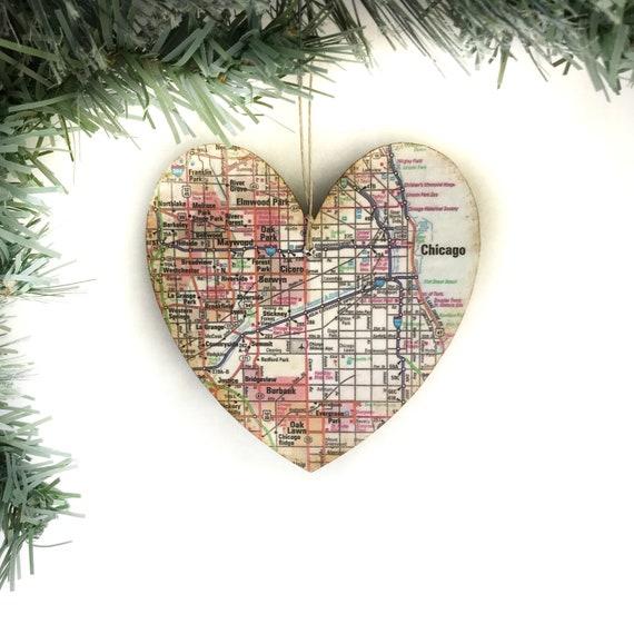 image 0 - Chicago Christmas Ornament