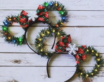 disney christmas ears etsy