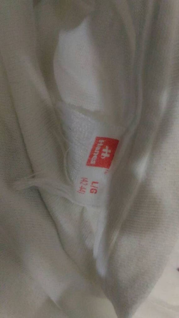 T L Vintage size Nirvana White shirt colour 6SPnxRwqP5