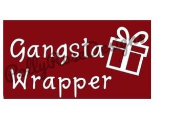 Gangsta Wrapper SVG
