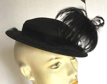 Vintage 1940s Ladies Hat 0653c9193bd