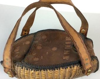 05bc79a6ad4b Vintage 1960s Armadillo Handbag