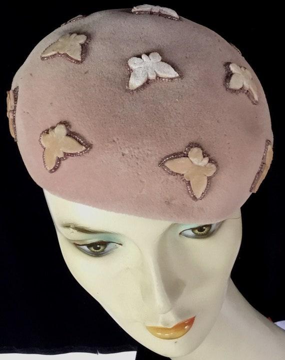 Vintage 1950s Schiaparelli Hat