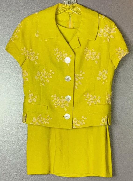 Vintage 1960s Claire Pearone 3 Piece Suit