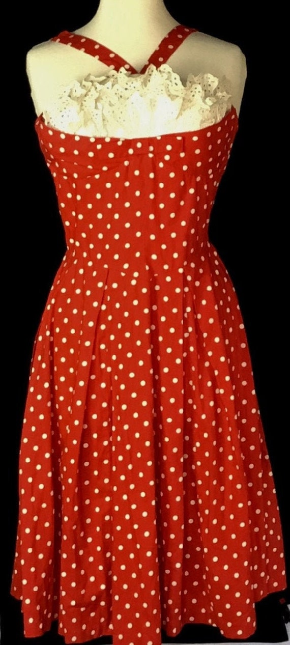 Vintage 1950s Polka Dot Sundress