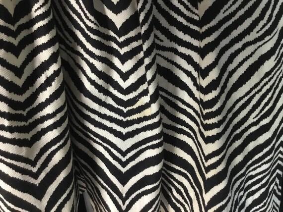 Vintage 1950s Gigi Young Zebra Print Dress - image 4