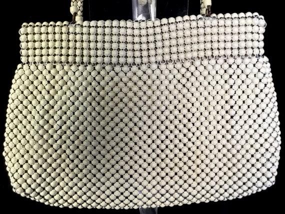Vintage 1940s Whiting and Davis Metal Mesh Handbag