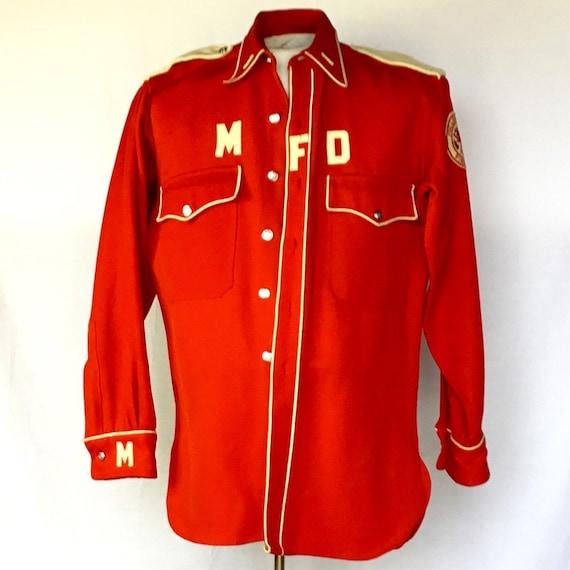 Vintage 1940s Fireman's Shirt