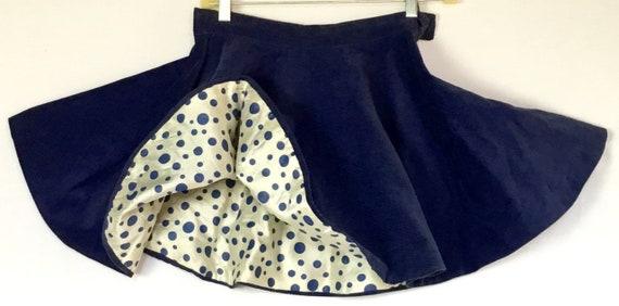 Vintage 1950s Skating Skirt