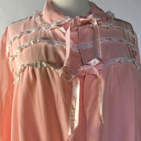 Vintage 1940s Bed Jacket - image 1