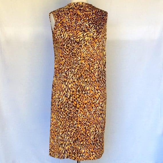 Vintage 1960's Leopard Dress