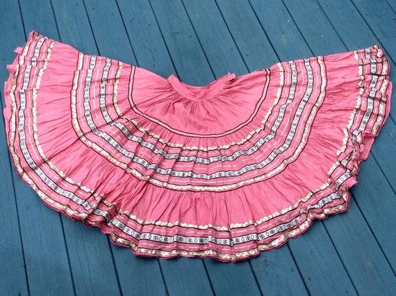 Vintage 1950s Fiesta Circle Skirt