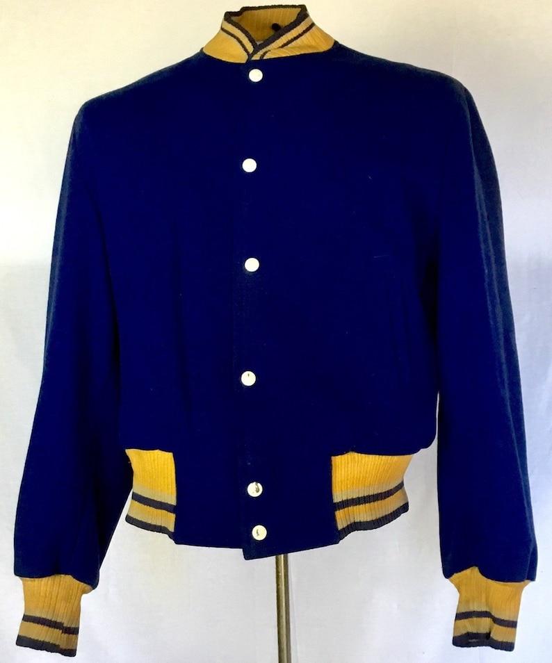 Vintage 1960s NFL Football Jacket image 0