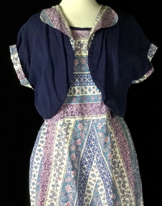 Vintage 1950s Sundress and Bolero Jacket