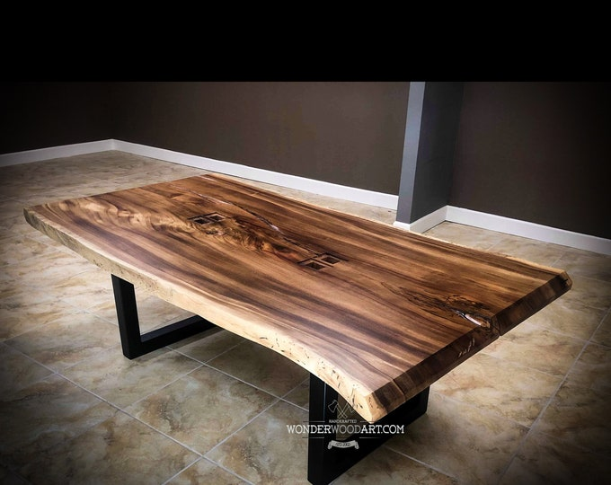 Live Edge Parota dining table or Conference table